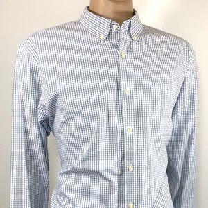 J.CREW Men's Shirt SZ XL Long Sleeve Tailored Fit